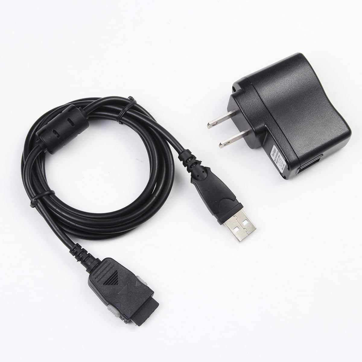 EPtech USB AC Power Charger Adapter+PC Cord For Samsung YP-K3 YP-K5 YP-S3 YP-S5 J//Q//A//Z