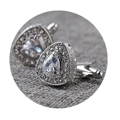 Amazon.com: Triángulo Gemelos, Gemelos de diamantes, plata o ...
