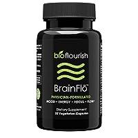 Nootropic Energy and Focus Brain Supplement: Non GMO Natural Cognitive Enhancement...