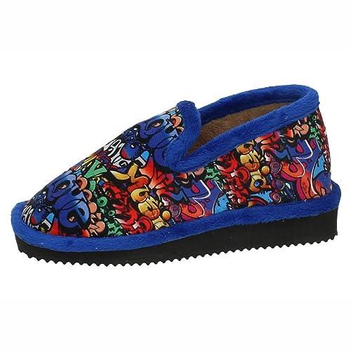 GEMA GARCIA 2023-6 Chinela DE GRAFFITIS NIÑO Zapatillas CASA Francia 27: Amazon.es: Zapatos y complementos