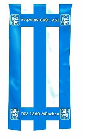Bertels TSV 1860 München - Toalla de baño/Toalla de Ducha/(de Toallas de plástico) con Las siguientes Medidas Aprox. 70 x 140 cm, 100% algodón: Amazon.es: ...