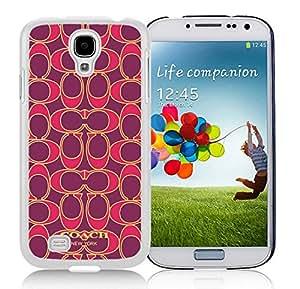 100% brand new Coach 76 White Samsung Galaxy S4 i9500 Case