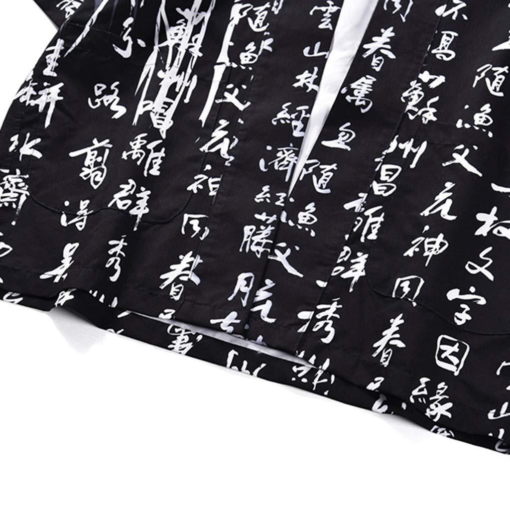 Fashion Print Top Blouse Kimono Hot Spring Clothing Lovers Individuality