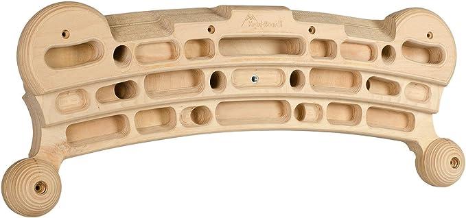 Kraxlboard – Tabla de entrenamiento de madera para escalada