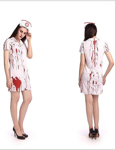 TUTOU Disfraz de Terror de Halloween, Disfraz de Fantasma ...