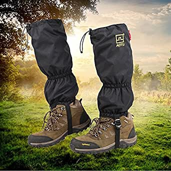Amazon.com: JTENG High Snow Leg Gaiters Double Sealed