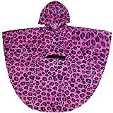 Wildkin Leopard EZ Poncho, Pink