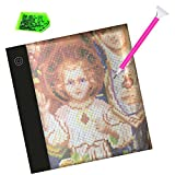 Diamond Painting A5 LED Light Pad Board Tablet Portable Dimmable Brightness Must Have for Paint with Diamonds for Kids Adults by Number Kit