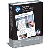 HP Printer Paper, Copy and Print20, 8.5 x 11, Letter, 20lb, 92 Bright, 500 Sheets / 1 Ream (200060R) Made In The USA