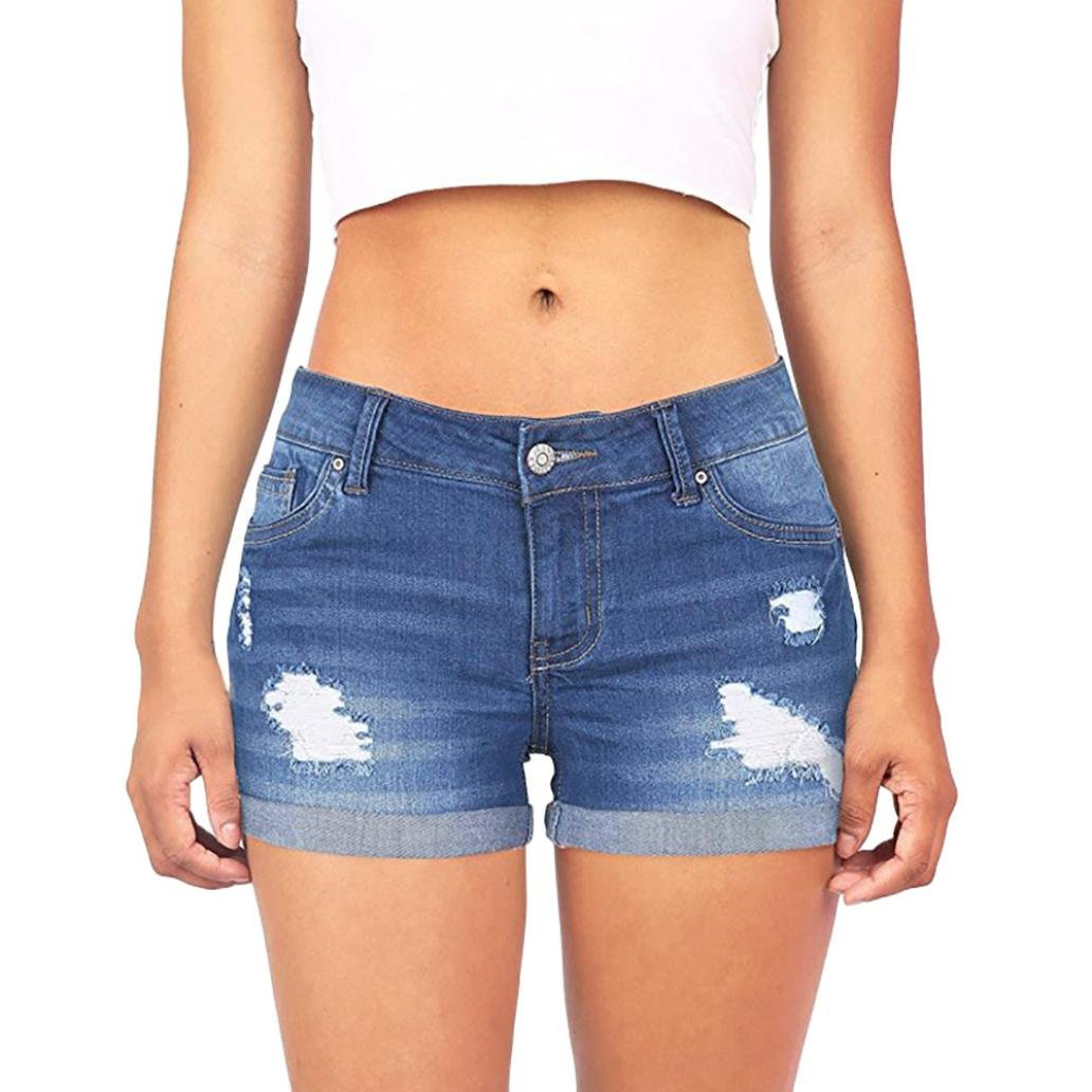 3b082ef1f 【 Material: 95% Cotton 5% Spandex 】Sexy women\'s jeans skinny plus size  shorts vest top argstar true religion high rise boot cut high waist bell  bottoms ...
