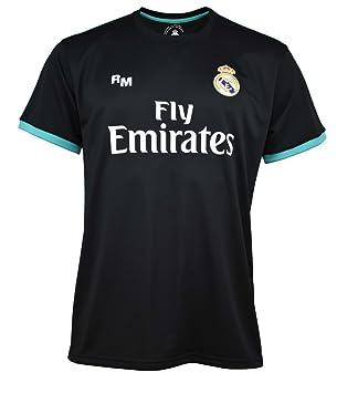 Camiseta Real Madrid oficial adulto segunda equipación [AB3904]: Amazon.es: Deportes y aire libre