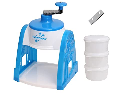 Victorio Hand Crack Snow Cone Machine Ice Shaver (Ice Shaver with Extra  Blade)