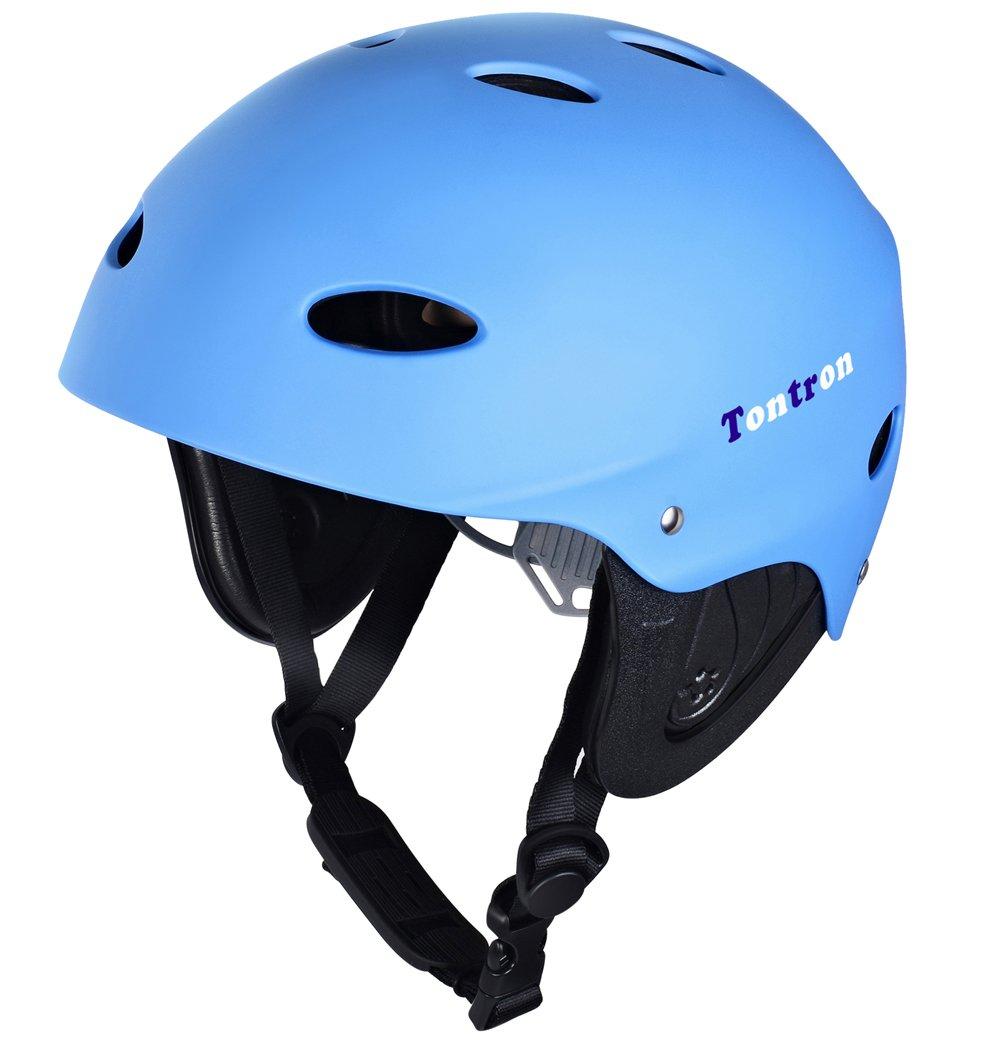 Tontron Water Helmet (Matte Blue, Large) by Tontron