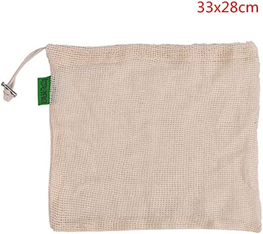 JJ.Accessory - Bolsa de la Compra Reutilizable (algodón, tamaño ...