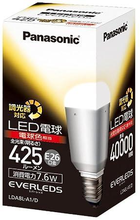 パナソニック EVERLEDS LED電球(調光器対応・口金直径26mm ・一般電球