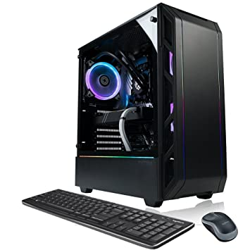 XOTIC PC P350X Elite EVO Gaming Desktop PC AMD Ryzen 7 2700X 8-Core 4.3