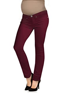b99dbe0523055 LizLang Maternity Low Rise Bootcut Jeans for Women Pregnancy Pants ...