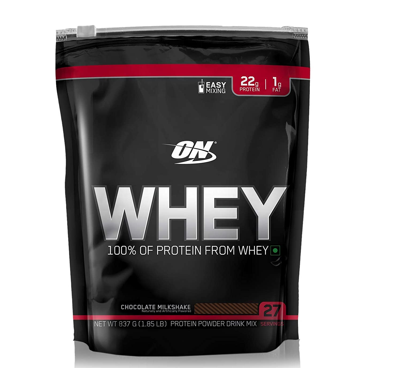 ON 100% Whey Protein Powder - 1.85 Lbs, 837 G (Chocolate)