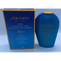 Gentle Sun Protection Lotion by Shiseido for Sensitive Skin & Babies Very High Protection SPF 30+ Water-Resistant 100 mL