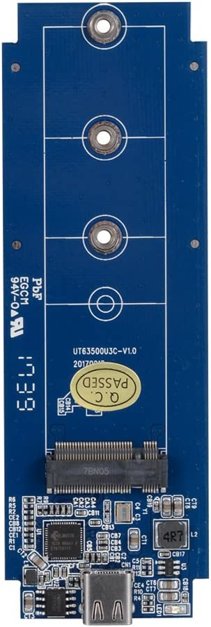 Uneatop UT63500U3CB M.2 NGFF SSD Enclosure Supports 2242//2260//2280