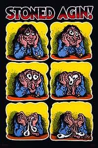 (24x36) R. Crumb (Stoned Agin') Art Poster Print
