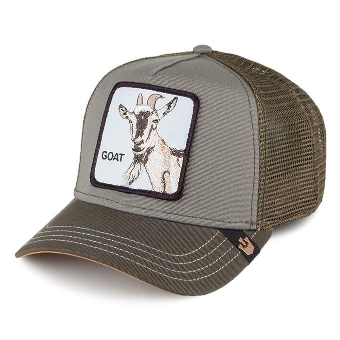 Goorin Brothers Gorra Trucker Goat Beard Verde Oliva - Ajustable: Amazon.es: Ropa y accesorios