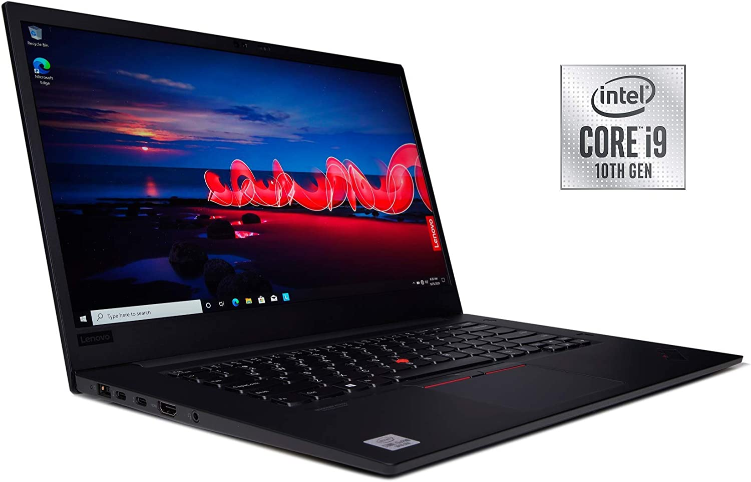 "New ThinkPad X1 Extreme Gen 3 Laptop 10th Gen i9-10885H 8 Cores vPro 5.30 GHz 15.6"" 4K UHD IPS, Anti-Glare, HDR400 600 nits Display GTX 1650 Ti 4GB Fibocom L860-GL 4G LTE (3TB SSD