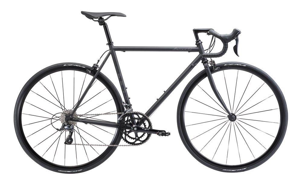 FUJI(フジ) BALLAD OMEGA 52cm 2x9speed MATTE BLACK ロードバイク 2018年モデル 18BLDOBK MATTE BLACK 52cm B075SZDZYX
