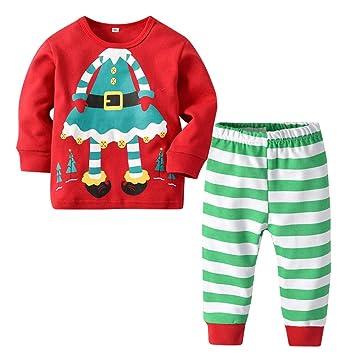 ea885bd92a79 Kid Christmas Pyjamas Boys Cotton Nightwear Toddler Clothes ...