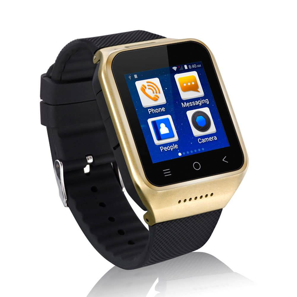 Amazon.com: Eican SW8-3 Smart Watch 3g Android 4.4 ...