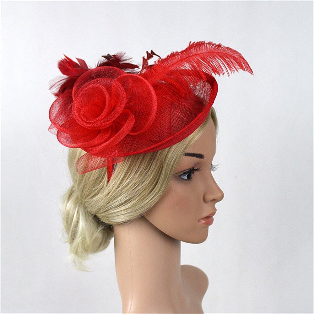 Royal Elegant Headband Head Flower Fascinator Classic Ascot Wedding Occasion