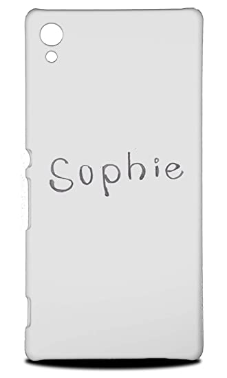 Amazon com: Cute Name Tag Sophie Sketch #2 Hard Phone Case