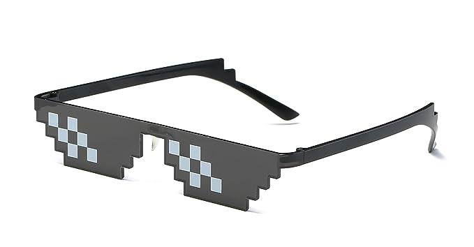 Amazon.com: Gafas de sol cuadradas Thug Life Gafas de sol ...