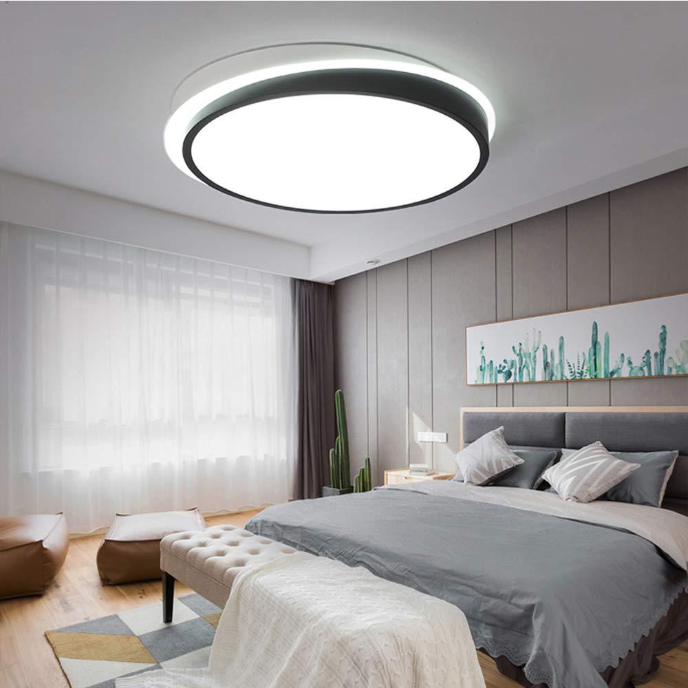 Amazon.com: Sheen - Lámpara de techo redonda, ultrafina, 44 ...
