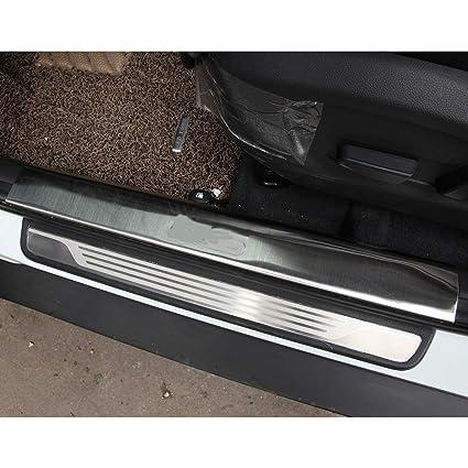 Amazon.com: Huanlovely: placa de acero inoxidable con pedal ...