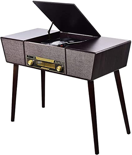 MUSITREND LP USB 3 Speed Record Player with Bluetooth