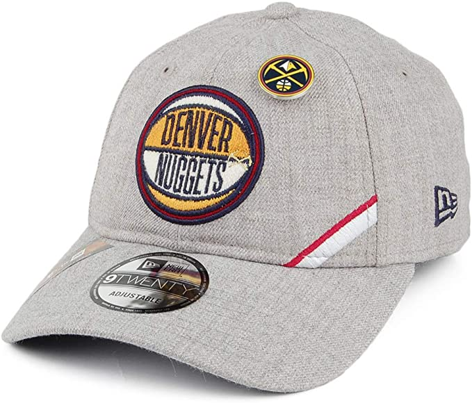 A NEW ERA Gorra de béisbol 9TWENTY NBA Draft Denver Nuggets Gris ...