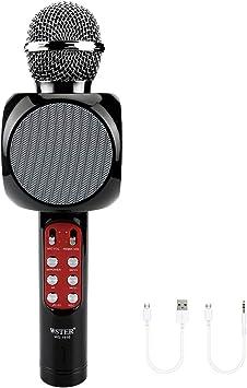 Bodbii WS-1816 - Micrófono inalámbrico con Bluetooth para Karaoke ...