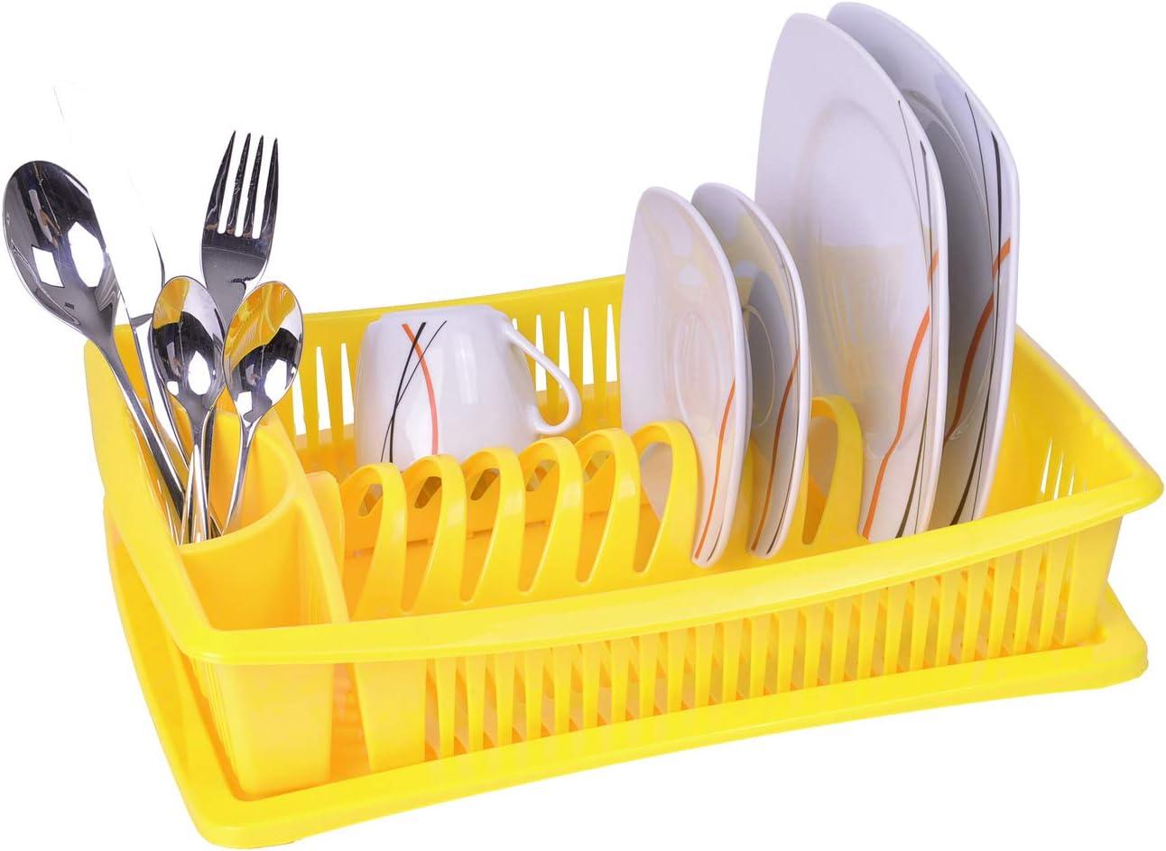 escurridor escurreplatos de rejilla bandeja de goteo platos de escurridor Escurridor de platos de escurridor