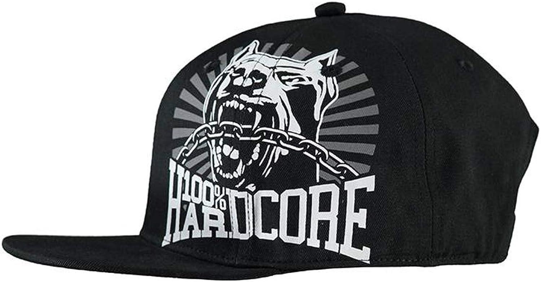 100% HARDCORE - Gorra de béisbol - para hombre Negro multicolor ...