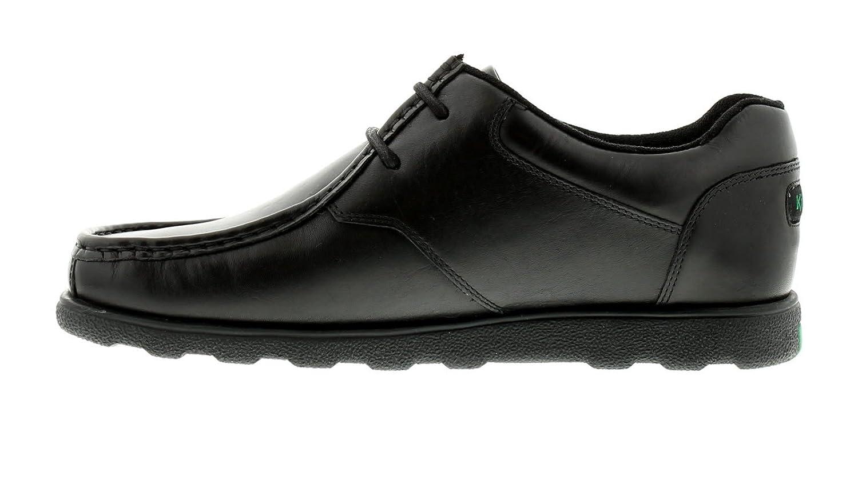 Discount Kickers Fragma Lace 3 Am Black Moccasins for Men Sale