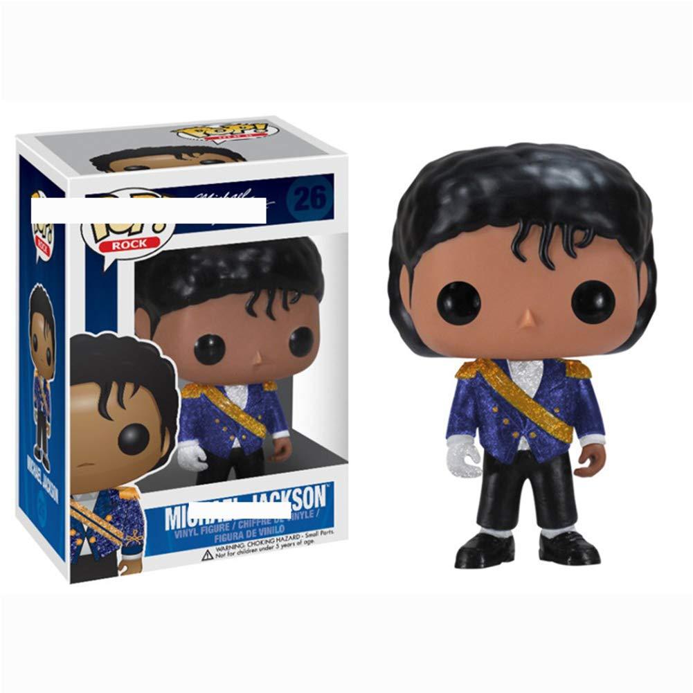 Alician FunGame Funko Pop Michael Jackson Vinilo Billie Jean Pop 26 # Uniforme Militar Jackson Blue