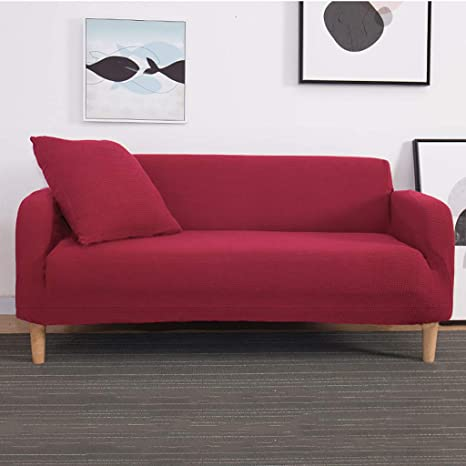Amazon.com: 1-Piece Stretch Sofa Cover,Knitted Thick ...