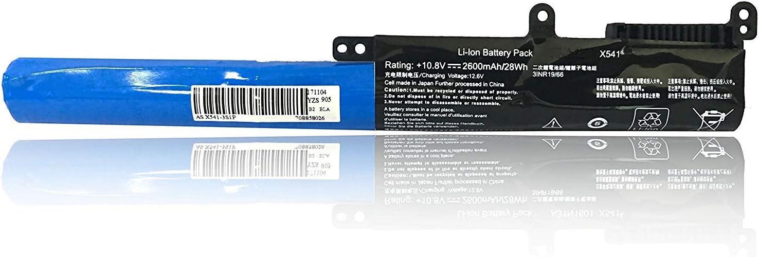 EBKK A31N1601 A31LP4Q Battery for ASUS X541 X541S x541N X541NA X541U X541UA X541SA X541SC X541UV X541SC R541N R541U R541UJ R541UA R541UV F541 F541U F541UA Series 0B110-00440000 0B110-00440100