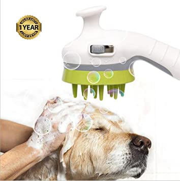 Cabezal De Ducha Para Mascotas, Impress Life Pulverizador Para Lavado De Perros + Masajeador + Aseo ...