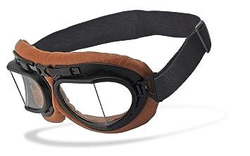 Helly/® Brillengestell: schwarz matt UV400 Schutzfilter Brille: rb-2 No.1 Bikereyes/® Motorradbrille HLT/® Kunststoff-Sicherheitsglas nach DIN EN 166