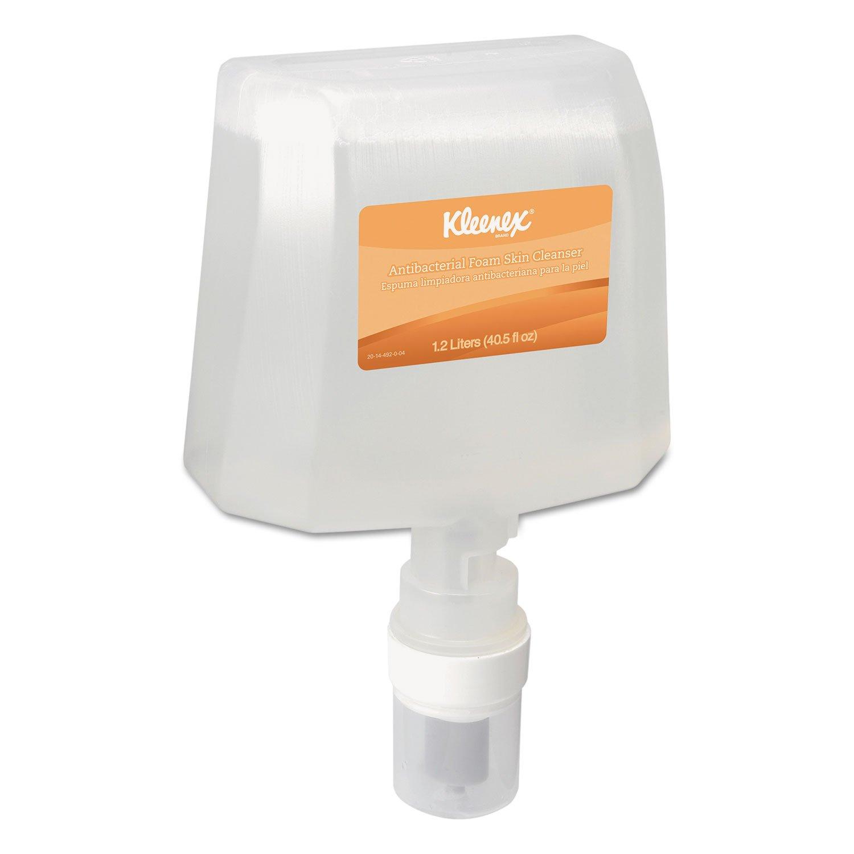 KIMBERLY-CLARK PROFESSIONAL - KLEENEX Skin Cleanser Refill, Antibacterial, 1200mL, 2/Carton 91594 (DMi CT
