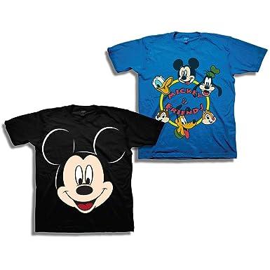 afc4f4b4bb3 Disney Boys Mickey Mouse Shirt – 2 Pack of Mickey Mouse Tees – Mickey Mouse