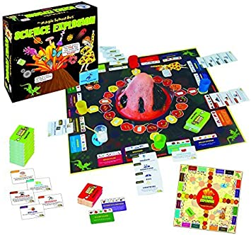 Science Explosion Board Game by The Magic School Bus: Amazon.es: Juguetes y juegos