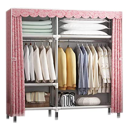 Cloth Wardrobe Clothes Storage Rack, Bedroom Oversized